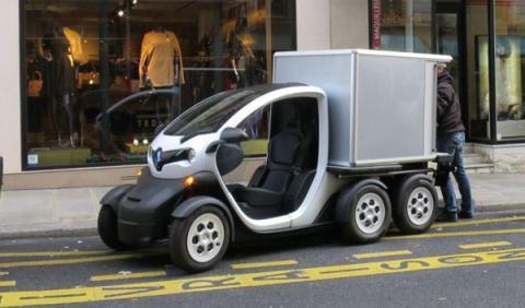 Renault Twizy Delivery Concept: ¡un Twizy para repartir!
