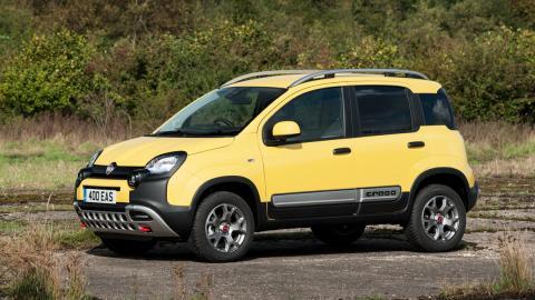 coches para campo capacidades sorprendentes Fiat Panda Cross