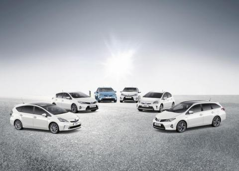 Matriculaciones Toyota 2015