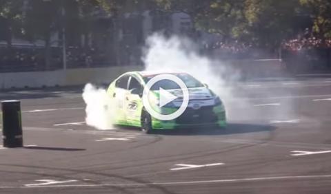 ¿Se puede hacer drift con un Toyota Prius?