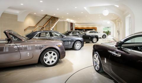 Concesionario Rolls-Royce
