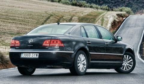 Volkswagen quiere un Phaeton a pesar de las pérdidas