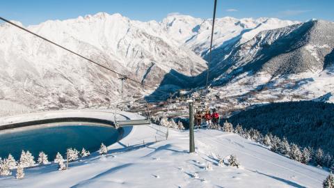 Mejores estaciones esquí españa cerler lago