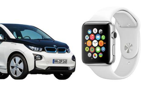 Apple Watch y BMW i3, totalmente conectados
