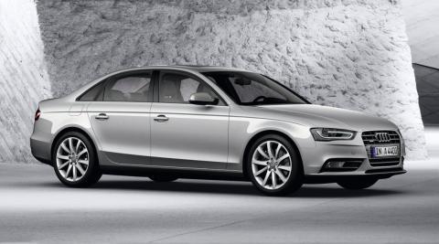Audi A4 2.0 TFSI flexible fuel delantera
