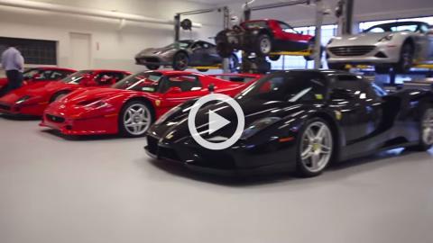 Vídeo: cinco generaciones de Ferrari, juntas