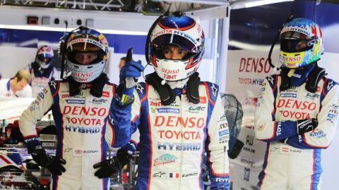 Toyota confirma su alineación de pilotos para el WEC 2015