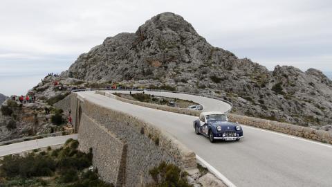 XI Oris Rally Clásico curva nudo de corbata