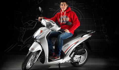 A la venta la Honda Scoopy SH 125i edición Marc Márquez