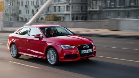 Audi A3 frontal