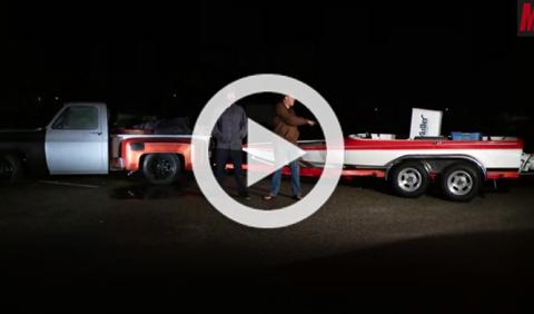 Experimento: ¿qué pasa si montas un motor V8 en una lancha?