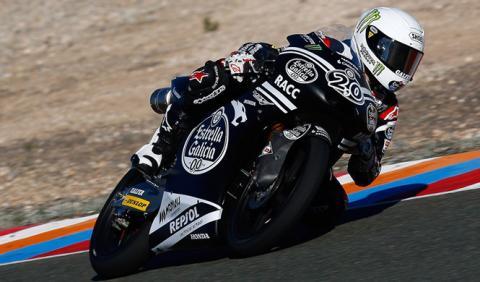 Dominio francés en los test de Valencia de Moto2 y Moto3
