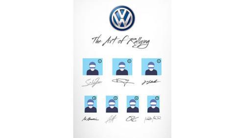 VW te reta: ¿reconoces las firmas de los pilotos del WRC?