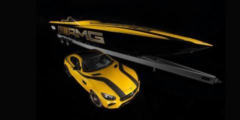 Cigarette Racing 50 Marauder GT S Concept Mercedes-AMG GT S 1