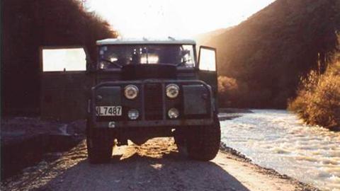 Land Rover Serie 1 1957 restaurado nueva zelanda