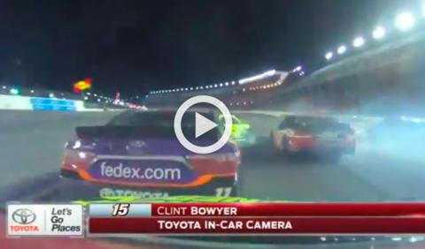Vídeo: espectacular accidente múltiple en la NASCAR