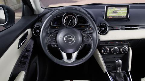 El Mazda2 ofrece un interior muy tecnológico