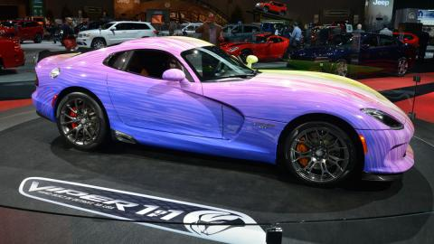 """Dodge Viper GTC  """"1-of-1"""" lateral"""