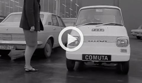 Ford Comuta de 1960: como el coche eléctrico actual