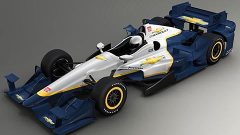 Chevrolet desvela el nuevo kit aerodinámico para la Indycar