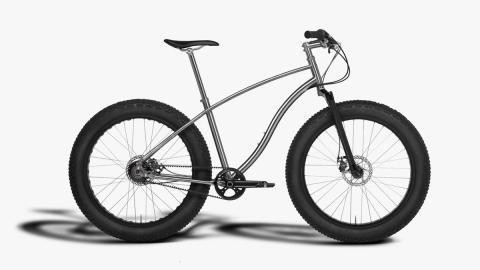La bicicleta Fat-Bike tiene ruedas de 12,19 cm de grosor
