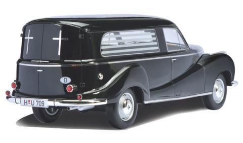 Schuco bmw 502 Leichenwagen