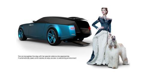 Un Rolls Royce para perros en Ginebra