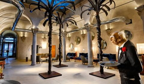 Hall hotel Garibaldi Blu