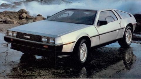 DeLorean DMC-12 - Regreso al Futuro - frontal