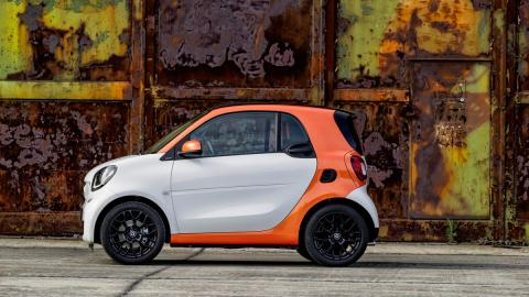 Smart fortwo lateral