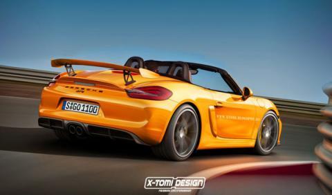 Porsche Boxster gt4