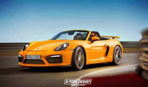 Porsche Boxster GT4 by X-Tomi ¡un sueño de verano!