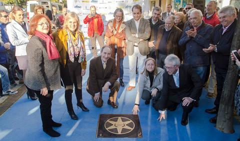 Inauguran la estrella del precursor del circuito de Jerez