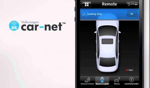 VW Car-Net e-remote, control a distacia del VW e-Golf