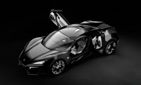Lykan HyperSport, el coche más caro de Fast&Furious 7