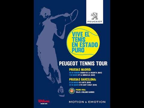 Comienza el Peugeot Tennis Tour