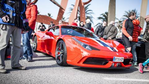 Ruta 6to6 Madrid - Ferrari 458 Italia