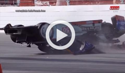 Vídeo: esto es lo que se siente al volcar a más de 300 km/h