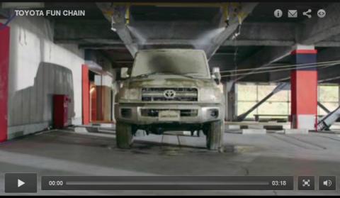 Vídeo: el singular anuncio de Toyota para Japón
