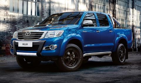 Toyota Hilux Invincible X: sólo para Reino Unido