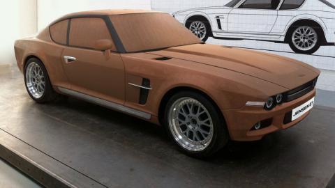 nuevo jensen GT delantera