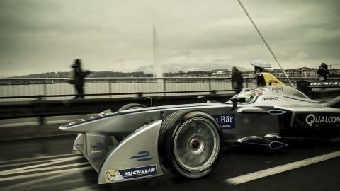 Vídeo: Fórmula E por las calles de Ginebra