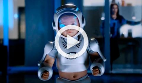 Hyundai crea el traje del bebé del futuro