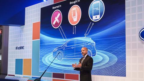 Ford Motor Company en el Mobile World Congress