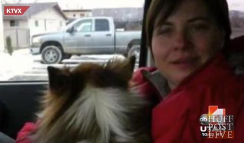 Se demanda a sí misma por la muerte de su marido en coche