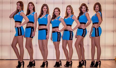 Las chicas del Estrella 0,0 Team