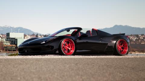 Ferrari-458-Spider-LB-Works