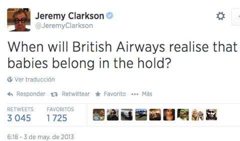 twitter jeremy clarckson
