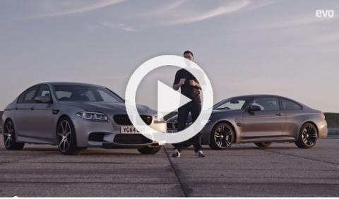Vídeo: BMW M4 vs. BMW M5