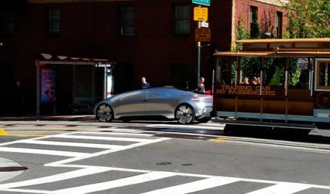 Mercedes Benz F015 San Francisco 2